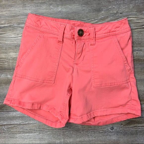 Justice Other - Justice Girls Coral Orange Shorts Size 8